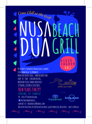 Nusa Dua Beach Grill - Come Chill At The Grill